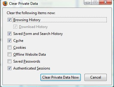 clear-private-browsing