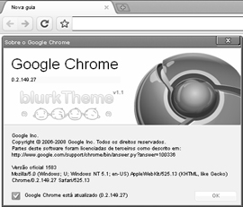 google-chrome-blurk-theme