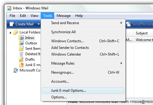 junk-email-options