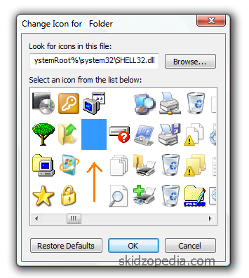 selecting-a-hidden-icon-in-windows