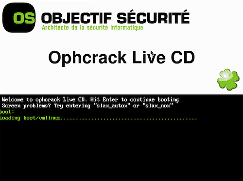 ophcrack-live-cd
