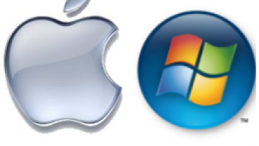 Windows and MacBook Air