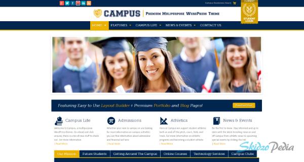 Campus Premium Multipurpose WordPress Theme