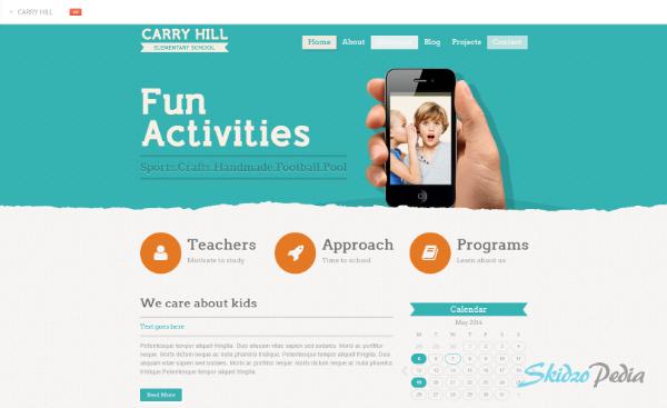 Carry Hill School – Responsive WordPress Theme