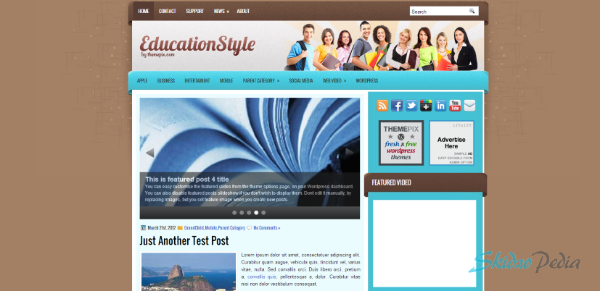 EducationStyle wordpress theme