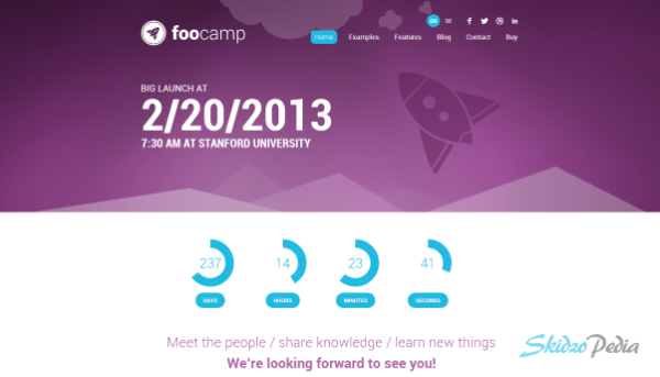 FooCamp Conference WordPress Theme