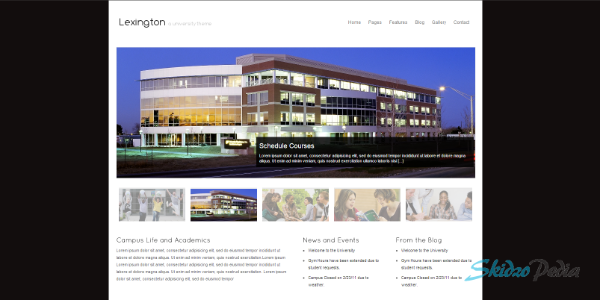 Lexington – A University WordPress Theme