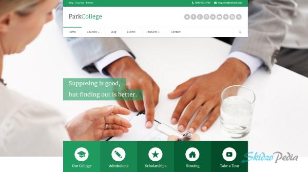 ParkCollege – Education Responsive WP Theme