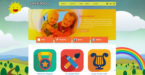 Pekaboo for WordPress – Children Theme Template