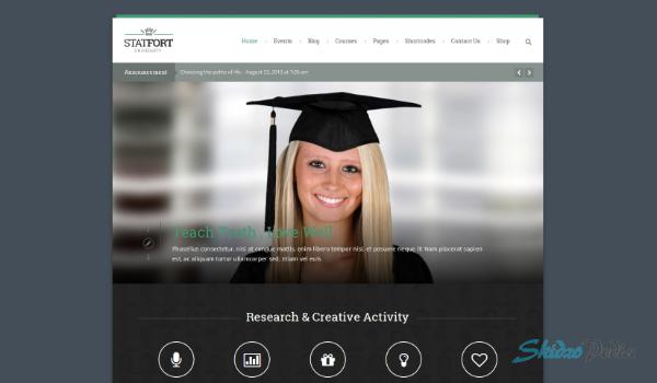 Statfort – Educational WordPress Theme