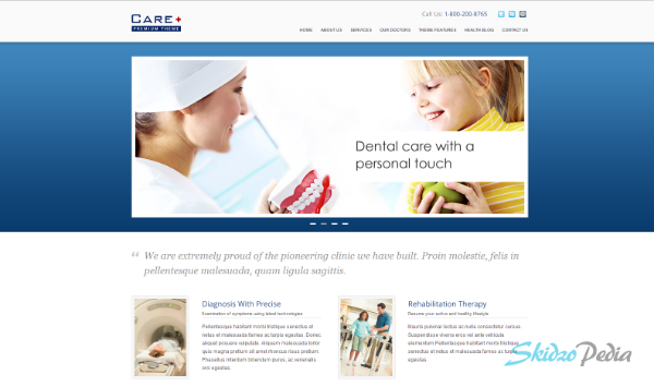 Care – Medical and Health Blogging WordPress Theme