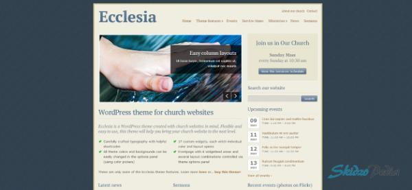 Ecclesia - WordPress Theme for Churches