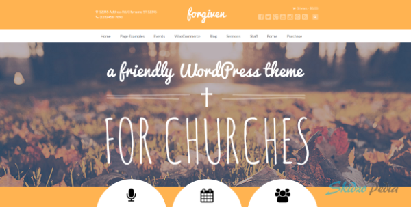 Forgiven - A Powerful WordPress Theme for Churches