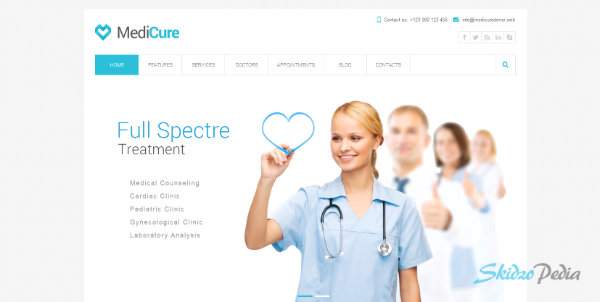 MediCure –Health & Medical WordPress Theme