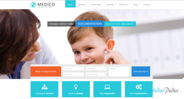 Medico - Medical & Health HTML5 Template
