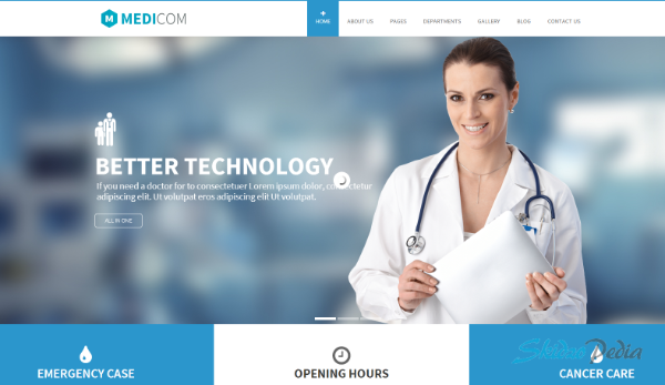 Medicom Medical & Health WordPress Theme