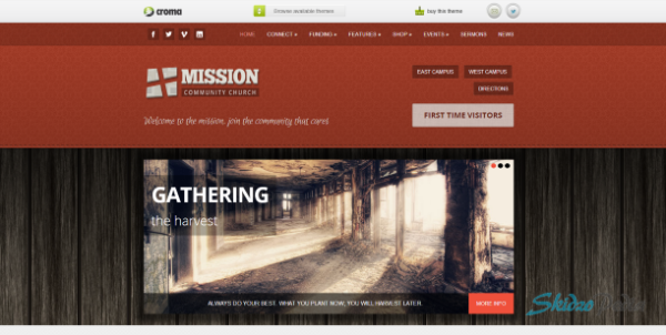 Mission - Crowd Funding and Commerce for Churches Theme