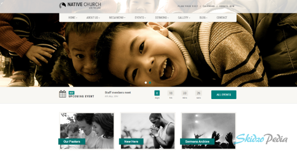 Native Church-Multipurpose Theme