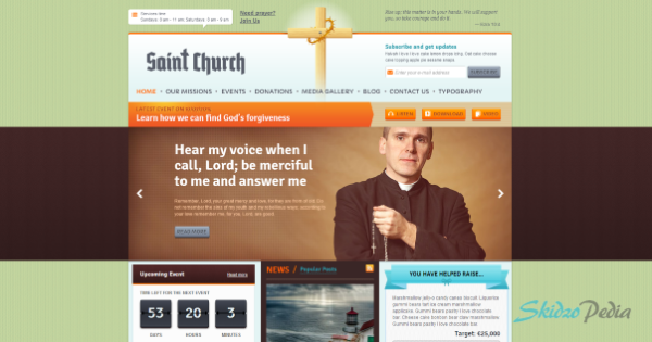 SaintChurch - WordPress Theme