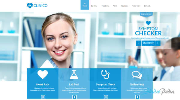 clinico wordpress theme
