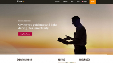 kause church wordpress theme