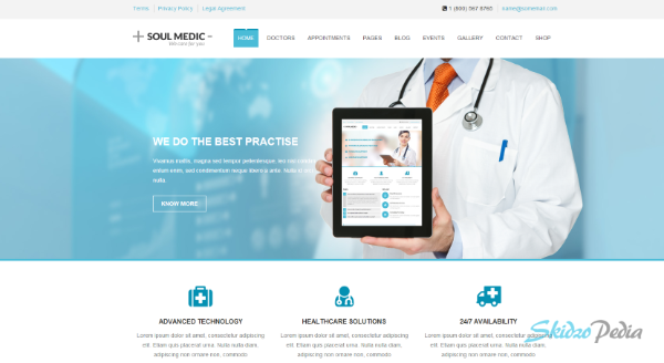 soul medic wordpress themes