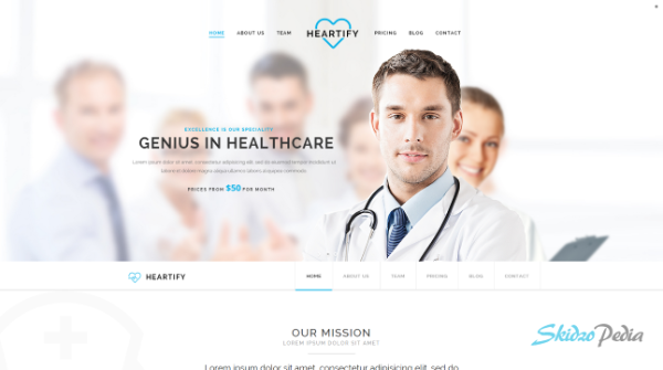 heartify html template