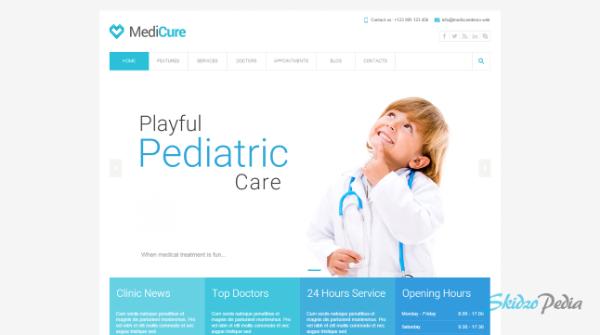 medicure html template