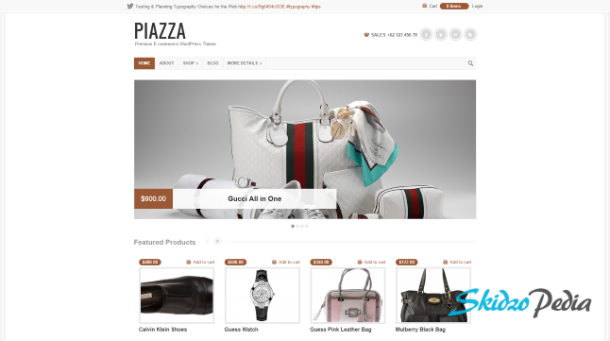 piazaa wordpress theme