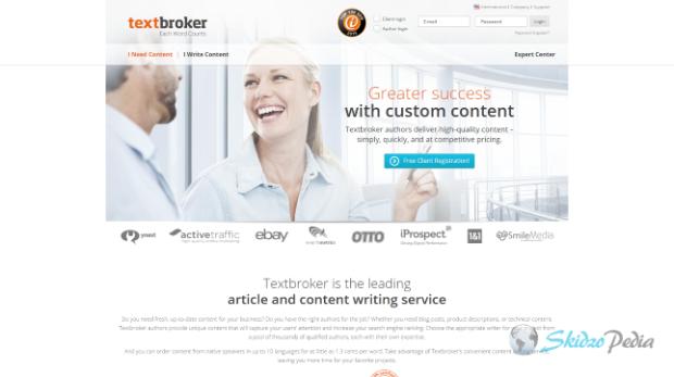 text broker